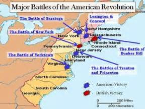 map of the revolution revolutionary war interactive battle map and worksheet w