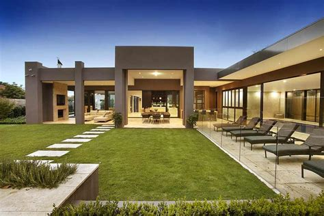 Design A Mansion by Imposing Luxurious Modern Mansion In Melbourne Wearing