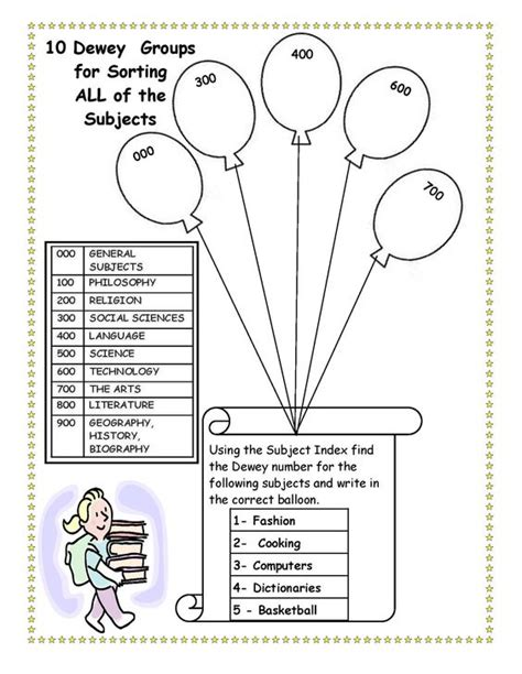 Library Skills Worksheets the world s catalog of ideas