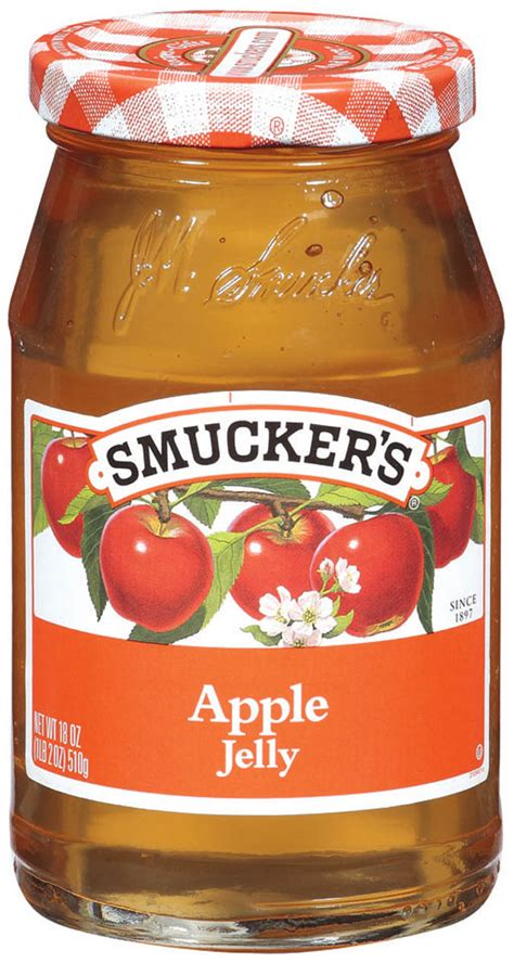apple jelly fruit spreads smuckers