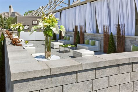 modern retaining wall retaining walls modern landscaping stones and pavers