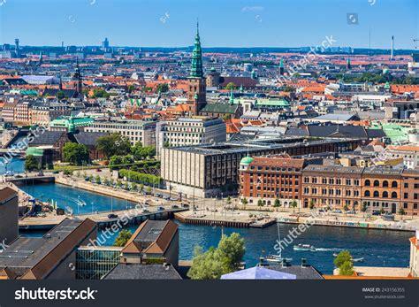 Search For In Denmark Copenhagen City Denmark Scandinavia Beautiful Summer Day Stock Photo 243156355