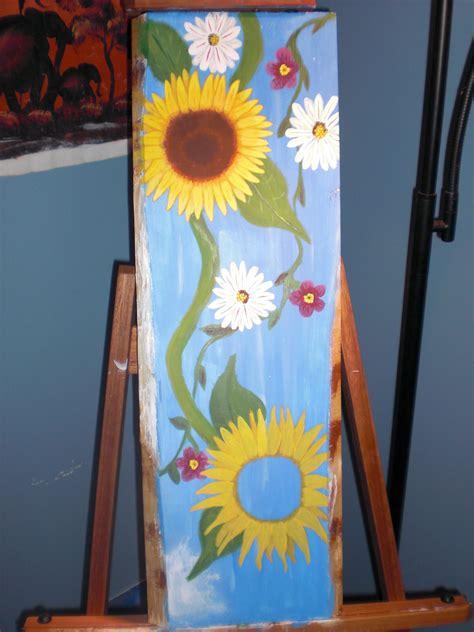 acrylic paint use on wood painting acrylic on wood artbymichelle
