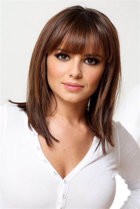 cute hairstyles you can do with shoulder length hair 15 cute medium hairstyles with bangs 2016 2017 on haircuts