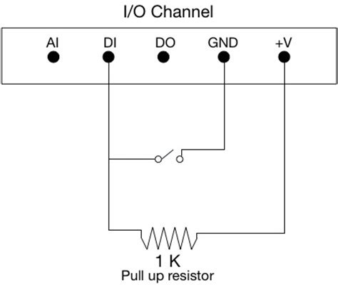 pull up resistor español circuits