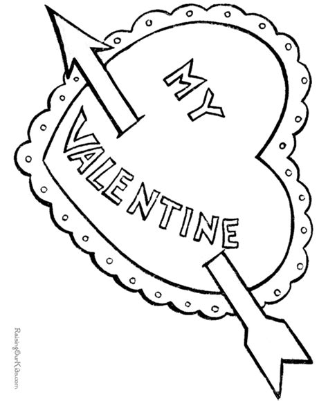 free cupid coloring page 007