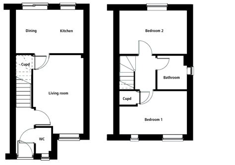 Small Prairie Style House Plans Floor Plans For Persimmon Homes All Pictures Top