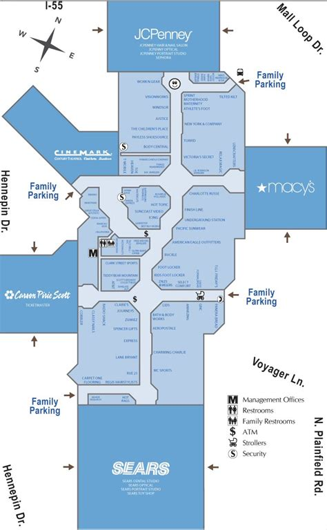 layout of louis joliet mall louis joliet mall map my blog