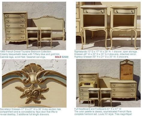 french furniture bedroom sets drexel touraine french provincial furniture bedroom