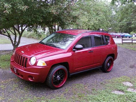 Jeep Compass 2007 Red Wallpaper 1600x1200 13905