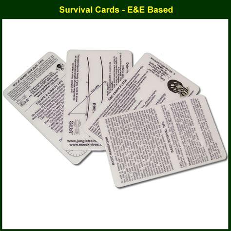 survival cards survival cards by esee survivalcards survivalmetrics