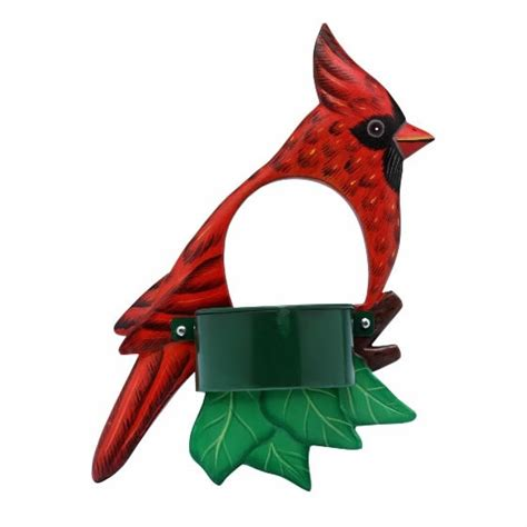 duncraft com cardinal window bird feeder