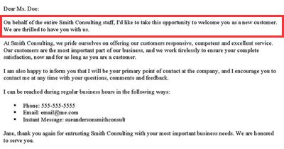Introduction Letter New Account Manager letter of introduction new account manager 7 customer