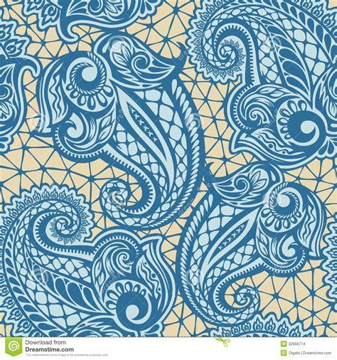 upholstery pattern making paisley seamless lace pattern stock illustration image