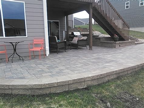Landscape Rock Deck Solid Rock Landscaping Traditional Deck By Solid
