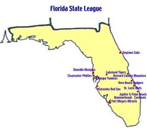 myrtle florida map single a teams