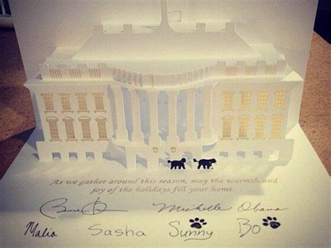 white house dog sunny white house christmas card stars dogs bo and sunny today com