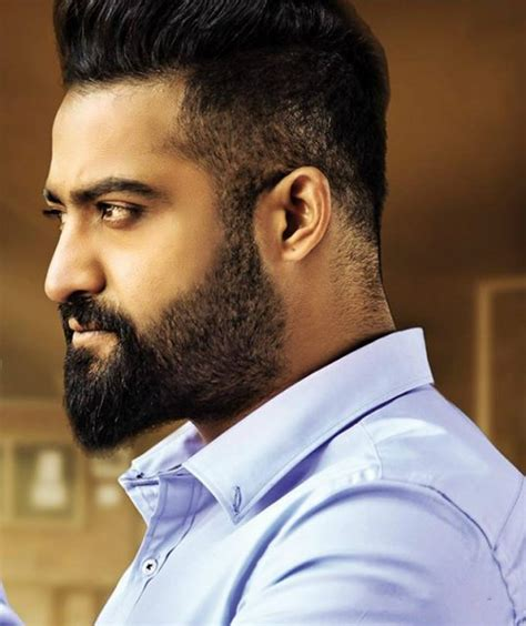 ntr new hair style jr ntr hairstyle pics life style by modernstork com