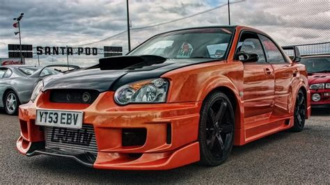 orange subaru wrx orange subaru impreza tuning race car wallpaper http