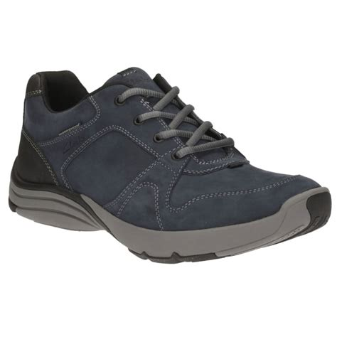 mens wide casual shoes clarks wave port mens wide casual shoes from charles