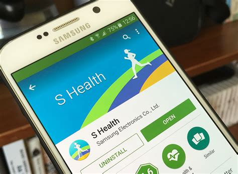 samsung brings s health app to play