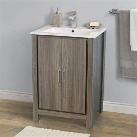 Menards Bathroom Vanities With Tops 24 Quot Modena Vanity Base With Top Combo At Menards Bathrooms Vanities Ps And Tops