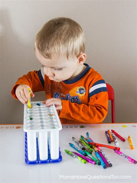 toddler projects 5 montessori tray ideas with a of each