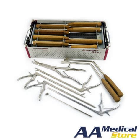 spine l for sale used synthes spine set 0040 surgical instruments for sale