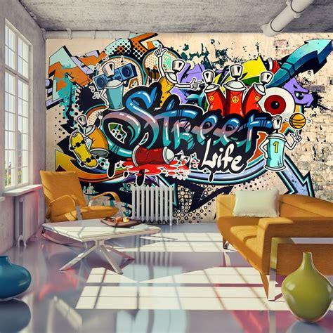 graffiti wallpaper home decor 17 best graffiti decor images on pinterest graffiti