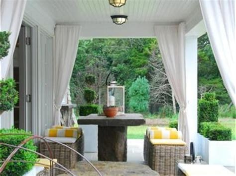 Curtains On Patio 17 Best Images About Outdoor Patio Curtains On Curtain Rods Porch And Patio And