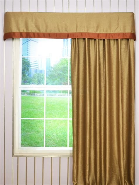 flat pleat curtains embossed floral damask flat splicing valance and curtains
