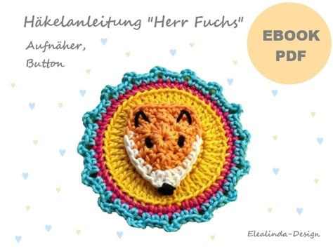 patterns english book pdf mr fox button patches application crochet pattern