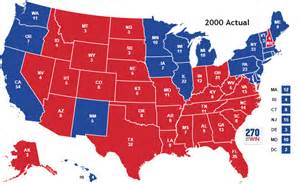 us election map 2000 historical u s presidential elections 1789 2016