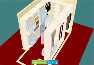 Walk in closet 3d design traditional toronto by tailored