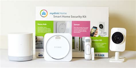 d link mydlink home security wi fi smart home security kit
