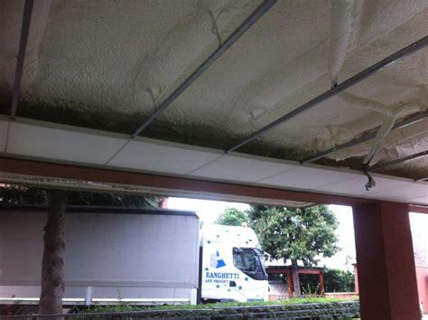 coibentazione soffitto isolamento di soffitto di portico aperto poliuretano a