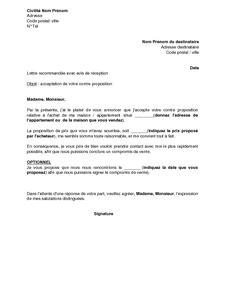 Exemple De Lettre Ouverte Contre Le Racisme Exemple Gratuit De Lettre 224 Acheteur Un Bien Immobilier Acceptant Contre Proposition