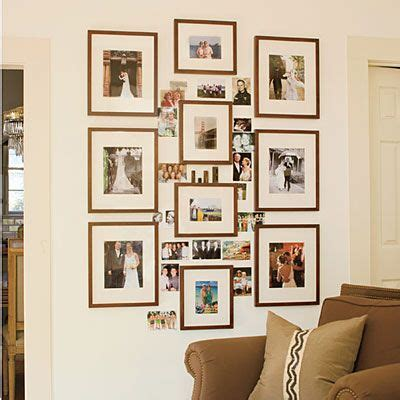 how to arrange pictures on a wall without frames 103 best images about how to arrange family photos on