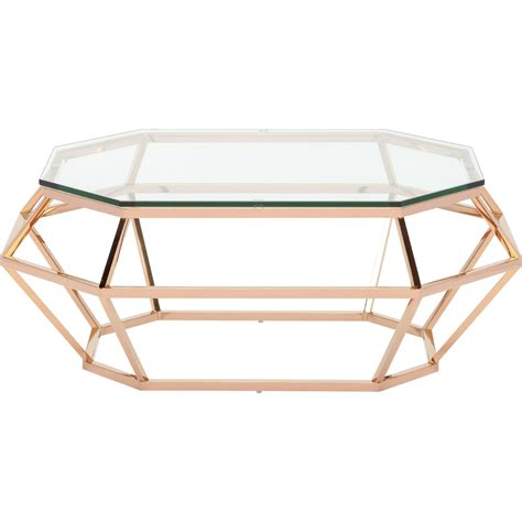 cheap gold coffee table rectangular coffee table by nuevo hgsx183 home