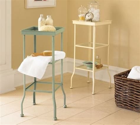Small Metal Accent Table Painted Metal Accent Table Small Pottery Barn Bathroom Decoration Pinterest Metals