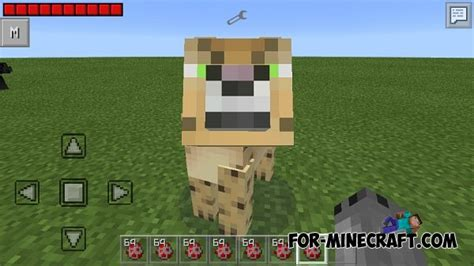 Leopard Big Pocket Edition 1 big cats mod for minecraft pocket edition 0 10 5