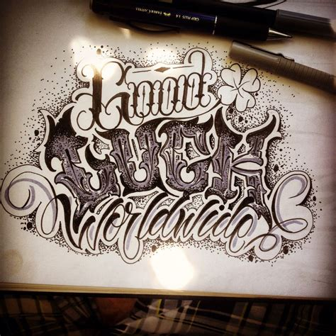 tattoo fonts russian luck worldwide lettering killa motolina