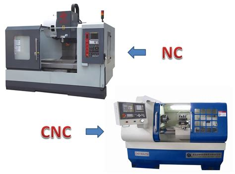 Machines And difference between nc and cnc machine mechanical booster