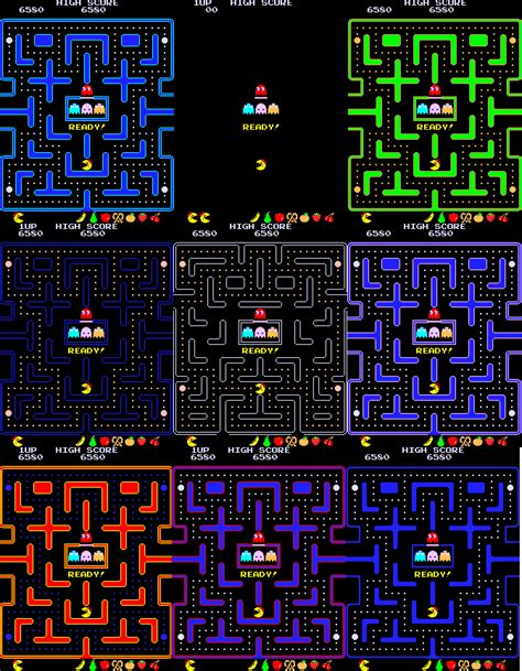 pacman hack ms pacman where i m from original pacman