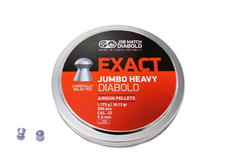 Jsb Exact Jumbo Heavy 22 jsb exact jumbo heavy diabolo 5 52mm 22