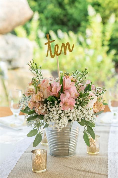 simple table decorations to make 25 best ideas about wedding centerpieces on