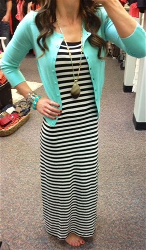 Max Strippy Cardi a mint cardigan a black and white striped