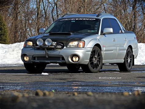 subaru baja the subaru baja from hell reviewed mind over motor