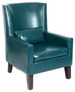 Teal Leather Chair Teal Faux Leather Arm Chair Home Decor By Kirkland S