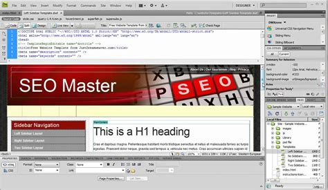 how to use dreamweaver templates from justdreamweaver com
